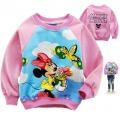 Disney Minnie Mouse LS Top 米尼印花纯棉毛圈长袖 (Design 12)