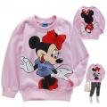 Disney Minnie Mouse LS Top 米尼印花纯棉毛圈长袖 (Design 17)