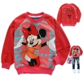 Disney Minnie Mouse LS Top 米尼印花纯棉毛圈长袖 (Design 18)