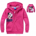 Disney Minnie Mouse Pink Hoodie Jacket 粉红色米尼带帽外套 (Design 4)