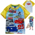 Disney Pixar Car Cartoon Tee 汽车总动员卡通上衣 (Design 11)