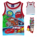 Disney Pixar Car Cartoon Tee 汽车总动员卡通上衣 (Design 17)