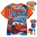 Disney Pixar Car Cartoon Tee 汽车总动员卡通上衣 (Design 18)