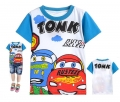 Disney Pixar Car Cartoon Tee 汽车总动员卡通上衣 (Design 24)