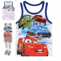 Disney Pixar Car Cartoon Tee 汽车总动员卡通上衣 (Design 28)