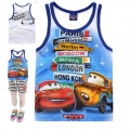 Disney Pixar Car Cartoon Tee 汽车总动员卡通上衣 (Design 29)