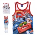 Disney Pixar Car Cartoon Tee 汽车总动员卡通上衣 (Design 30)