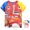 Disney Pixar Car Cartoon Tee 汽车总动员卡通上衣 (Design 37)