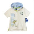 Disney Toy Story Hoodie White Cartoon Tee 白色带帽卡通上衣 (Design 1)
