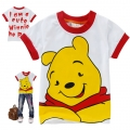 Disney Winnie the Pooh Cartoon Tee 维尼熊印花纯棉上衣(Design 1)