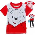 Disney Winnie the Pooh Cartoon Tee 维尼熊印花纯棉上衣(Design 2)
