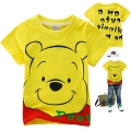 Disney Winnie the Pooh Cartoon Tee 维尼熊印花纯棉上衣(Design 3)