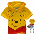 Disney Winnie the Pooh Cartoon Tee 维尼熊印花纯棉上衣(Design 4)