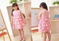 EVA Roses Layers Pink Dress 多层蛋糕款连衣裙