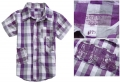 GUESS Checked Collar Shirt 格子短袖衬衣 (Design 2)