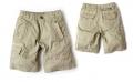 GUESS Khakis Quarters Pant 男童夏季字母刺绣休闲短裤