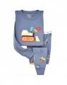 Gap Tractor Blue 2 Pcs Pyjamas Set 浅蓝色车车