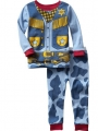 Gap Cowboy Blue 2 Pcs Pyjamas Set 浅蓝假两件印花套装