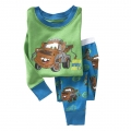 Gap Mater Green 2 Pcs Pyjamas Set 绿色汽车套装