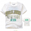 Guess Jeans No.81 White Tee 米白纯棉中大童