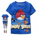 HOT PET Angry Bird Cartoon Tee 卡通愤怒的小鸟纯棉上衣(Design 6)