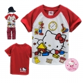 Hello Kitty Cartoon Tee 卡通上衣 (Design 1)