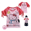 Hello Kitty Cartoon Tee 卡通上衣 (Design 4)