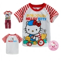 Hello Kitty Cartoon Tee 卡通上衣 (Design 5)