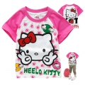 Hello Kitty Cartoon Tee 卡通上衣 (Design 11)