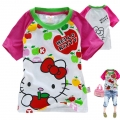 Hello Kitty Cartoon Tee 卡通上衣 (Design 15)