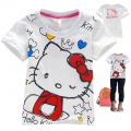 Hello Kitty Cartoon Tee 卡通上衣 (Design 16)
