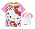 Hello Kitty Cartoon Tee 卡通上衣 (Design 25)