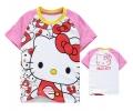 Hello Kitty Cartoon Tee 卡通上衣 (Design 25)