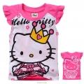 Hello Kitty Cartoon Tee 卡通上衣 (Design 27)