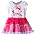Hello Kitty Sweet White&Pink Dress 粉色连衣裙