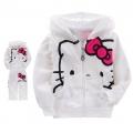Hello Kitty White 2 Pcs Set 印花纯棉套装(Design 1)