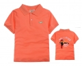 Holister Parrot Orange Collar Tee 橙中大童