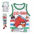 HotPet Angry Bird Cartoon Tee 卡通愤怒的小鸟纯棉背心 (Design 1)