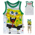 Hot Pet Sponge Bob Cartoon Tee 海棉薄宝卡通上衣 (Design 6)