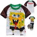 Hot Pet Sponge Bob Cartoon Tee 海棉薄宝卡通上衣 (Design 7)