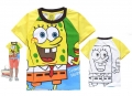 Hot Pet Sponge Bob Cartoon Tee 海棉薄宝卡通上衣 (Design 9)