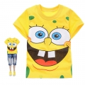 Hot Pet Sponge Bob Cartoon Tee 海棉薄宝卡通上衣 (Design 11)