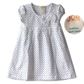 JOE White Polkadots Dress 白色底黑点连衣裙