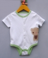 JOE Little Bear White Romper 小熊白色哈衣