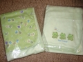 Just One Year Little Frogs Green Blanket 全棉青蛙被子