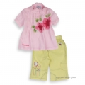 Little Girls 2 Pcs Pink Suit 法单粉色套装