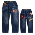 MSC Pixar Car Denim Jeans 汽车总动员纯棉牛仔长裤 (Design 8 )