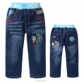 MSC Thomas Train Long Jeans 火车头纯棉洗水牛仔长裤 (Design 8)