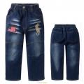 MU Polo Denim Pant 蓝单层中童长裤长裤 (Design 18)