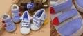 Mothercare Blue & Grey Shoe 男生蓝灰色双贴休闲鞋